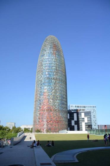 Torre Agbar_Barcellona